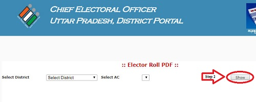 Uttar Pradesh Voter List